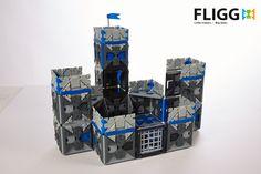 Her ser du en Fligg legeborg. Med 1000 brikker i hvert kasse Fligg er mulighederne mange, for hvad der skal bygges. Køb Fligg på Nikostine.dk #Fligg #Constructiontoys #Konstruktionslegetøj