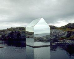 Mirror House by Ekkehard Altenburger, 1996