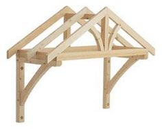 Porch Kit - 1200mm Apex Porch Canopy