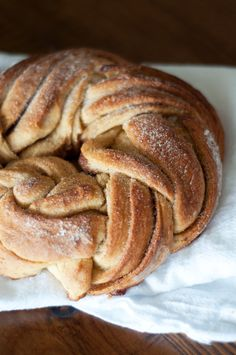 cinnamon & honey twist bread