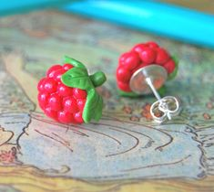 Raspberry Studs by Madizzo.deviantart.com on @deviantART
