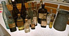 Six Things To Look For When Collecting/Appraising Old Glass Bottles
