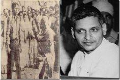 Nathuram Godse was the man who killed Gandhi, he shot Gandhi 3 times at point blank rage on 30 January 1948