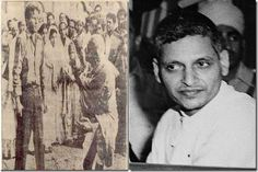 Nathuram Godse was the man who killed Gandhi, he shot Gandhi 3 times at point blank rage on 30 January 1948