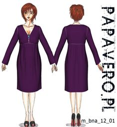 Free papavero pattern. Original pattern is pregnancy nightwear, is it bad if I think this would be a great dress for me?
