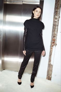 Sally LaPointe Pre-Fall 2015 Fashion Show