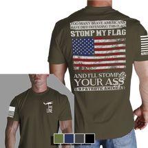 Men's T-Shirt - Defend This Flag