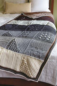 Ravelry: WEBS Mystery Crochet-A-Long Blanket pattern by Sara Delaney
