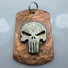 Punisher Marvel, Punisher Skull, Antler Jewelry, Coin Jewelry, Captain Marvel, Ms Marvel, Marvel Comics, Coping Saw, Dremel Projects