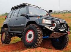 Modifikasi Suzuki Escudo Of Road