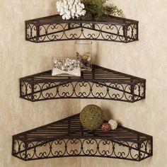 You could save space by using corner shelves in the bathroom, for mouthwash, toothpaste, or hairbrush, hair bows, etc.