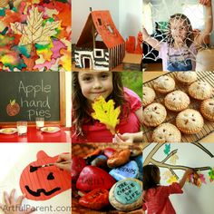 The Artful Year Autumn - An eBook full of Autumn Crafts and Recipes!