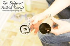 How to Install Incompatible Bathtub Faucet Heads Small Bathroom, Shower Bathroom, Diy Shower, Bathroom Ideas, Bathrooms, Bathroom Repair, Home Upgrades, Home Repairs, Diy Home Improvement
