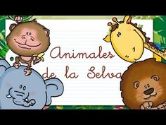 Animales de la SELVA en ESPAÑOL para niños - YouTube Spanish Classroom, Teaching Spanish, Spanish Activities, Jungle Theme, Biomes, Yoga For Kids, How To Speak Spanish, Kids Songs, Spanish Language