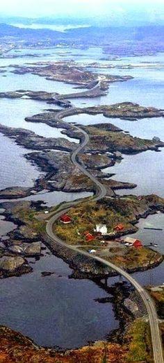 Norwegian Atlantic Road.