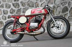 Modifikasi Yamaha RX 100 (1977): Beda Itu Asyik, Jack
