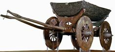 the Oseberg cart (© Museum of Cultural History, University of Oslo, Norway)