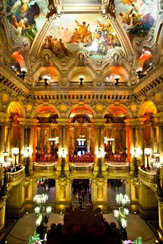 Palais Garnier - Paris Opera  Amazing Paris  http://www.travelandtransitions.com/our-travel-blog/paris-2012/