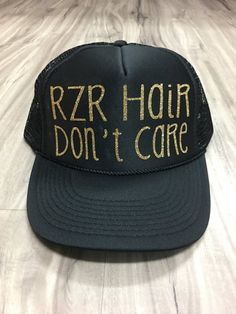 51372a3bbed3c RZR Hair Don t Care Trucker Hat Mesh Camping Desert by Skippitidoo