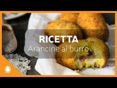 ARANCINE AL BURRO - Ricetta Arancinotto - YouTube