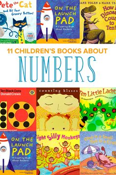 Is your child ready to count and learn about numbers? Books are a great way to start! Discover 11 children's books about numbers to read with your child. Even includes a FREE printable Read Aloud Book List with hundreds of favorite selections to read with your kids! #childrensbooks #childrensbooks