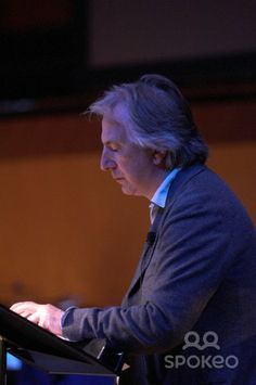 Alan Rickman narrates the new orchestral commission based on Salman Rushdie's novel The Ground Benath Her Feet as part of the Manchester International Festival