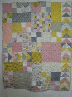 One of two baby quilts