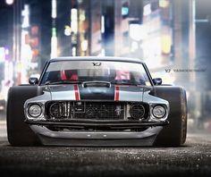 1969 Ford Mustang -  - #CarsandMotorcycles