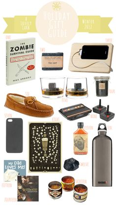 A Lovely Lark: Holiday Gift Guide 2012: For Him