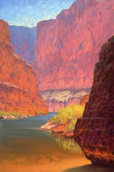 Grand Canyon Paintings Painting - Carving Castles by Cody DeLong