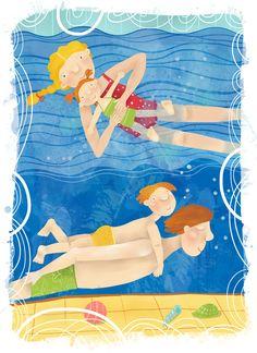Имиджевая картинка про семейной плавание для центров йоги и плавания http://www.birthlight-spb.ru/