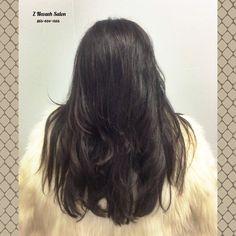 Rich Chocolate Color & Textured Haircut @znevaehsalon #lorealprofessionnel #znevaehsalon #knoxvilletn