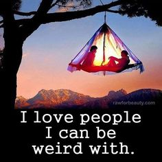 Good Friends You Can Be Weird WIth life quotes quotes quote friends best friends…