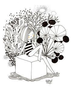doll cube pilea, Cécile Hudrisier