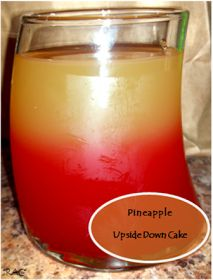 Rebecca's Amazing Creations: Pineapple Upside Down Cake Drink and celebrating 9,000+ views!