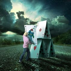 Shawn Van Daele is a photographer from Toronto Canada who loves to explore the possibilities of photography with photo manipulation. He is known for his creative projects The Drawing Hope and Walk Off The Earth, in which he created crazy and some surreal pictures with his crazy ideas.