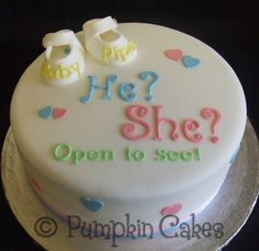1000+ images about Gender Reveal Cakes on Pinterest ...