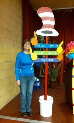 Dr Seuss theme this year  Why I participate in Relay for Life. http://www.lynnehartke.com/participate-relay-life/