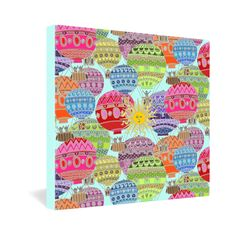 Sharon Turner Candy Sky Gallery Wrapped Canvas #whimsy