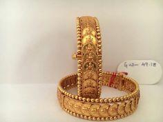 India Jewelry, Ethnic Jewelry, Gold Jewellery, Bridal Jewelry, Gold Bangles For Women, Gold Bangles Design, Jewelry Design, Ancient Jewelry, Bangle Set