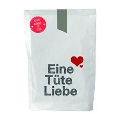 Eine Tüte voller Liebe. Wundertüte für verliebte oder als Hochzeitsgeschenk.
