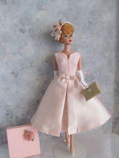 Vintage Barbie/Silkstone Belle in Blush! OOAK Handmade by Ann