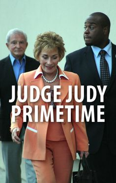 Ellen joked about Judge Judy's new prime time special on her show today. The special airs on CBS May 20, 2014.  http://www.recapo.com/ellen-degeneres-show/ellen-jokes/ellen-tv-judge-judy-new-show-prime-time-terrible-monday/