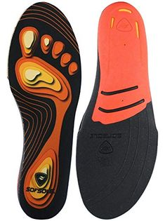 2020d68b79ad Sof Sole Insoles Unisex FIT Support Full-Length Foam Shoe Insert Review  High Arch Insoles