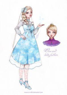 La vida en cosplay: Diseño de princesas Disney versión LOLITA
