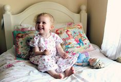 those pillows are way cool. and adorable child. from sprinkleofglitter@blogspot