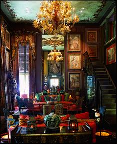 Amazing 10 Dark Bohemian Decor Ideas for Your Home – Home and Apartment Ideas Bohemian Living, Dark Bohemian, Bohemian Style, Bohemian House, Ethnic Style, Bohemian Interior, Eclectic Decor, Boho Decor, Bohemian Decorating