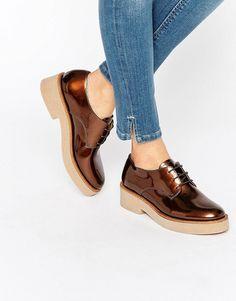 Image 1 - ASOS - MINORITY - Chaussures plates à lacets