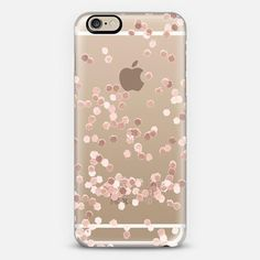 LIMITED EDITION ROSE GOLD TRANSPARENT by Monika Strigel for iPhone 6 iPhone 6 case by Monika Strigel | Casetify