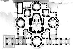 St. Basil's Floor Plan by Postnik Yakovlev